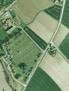 air photograpy of Lijssenthoek
