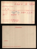 APPLETON EDWARD WILLIAM(medal card)