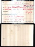 BOLAM WILLIAM(medal card)