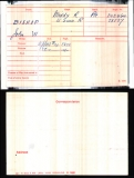 BISHOP JOHN WILLIAM(medal card)