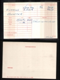 CUMMING KENNETH GORDON(medal card)