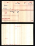 BENOY WILLIAM EDWIN GEORGE(medal card)