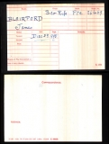 BLAIRFORD JAMES(medal card)