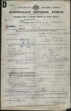 BOND EDMUND MATTHEW (attestation paper)