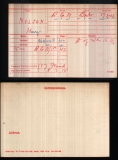 NELSON HARRY (medal card)