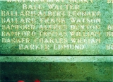 BARKER EDMUND (War Memorial in Kettering)