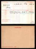 BATES PERCY(medal card)