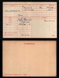 ALLANACH JAMES(medal card)