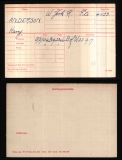 ANDERSON HARRY(medal card)