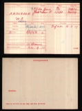 ANDERSON WILLIAM C(medal card)