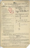 AIREY FREDERICK ARTHUR (Attestation)