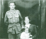BARRETT NATHAN DOUGLAS (with his wife Evelyn and daughter Valda)