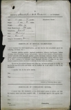 BEAVER WILFRED NORMAN (attestation paper)