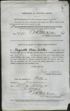ASHTON REGINALD OLIVER (attestation paper)