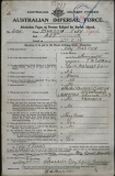 BARTON ROY CYRIL (attestation paper)