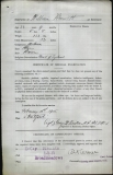 BENNETT WILLIAM (attestation paper)