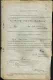 TIDESWELL CYRIL (attestation paper)