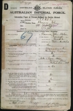 STOKES CLARENCE JOHN (attestation paper)