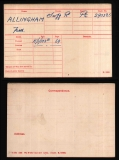 FRED ALLINGHAM(medal card)