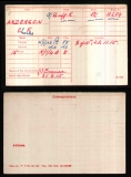 CHARLES FRED ANDERSON(medal card)