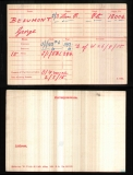 GEORGE BEAUMONT(medal card)