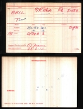 THOMAS BELL(medal card)