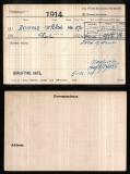 CHARLES DONALD(medal card)