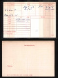 GEORGE WILLIAM CULLIP(medal card)