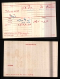 GEORGE THOMAS TRUSSLER(medal card)