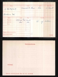 ARTHUR WILLIAM CRASKE(medal card)