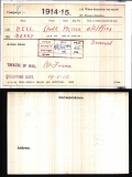 BELL HARRY(medal card)