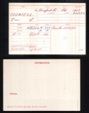 TOM LEONARD TL COUNSELL (medal card)