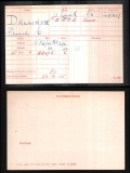 EDWARD CHARLES EC DALLIMORE(medal card)