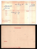 JAMES J AMNER(medal card)
