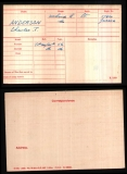 CHARLES THEODORE CT ANDERSON(medal card)