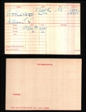 WILLIAM JOHN VICTOR WJV APPLEYARD(medal card)