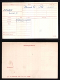 LOUIS FISHER LF COOKE(medal card)
