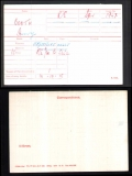 BOOTH HARRY(medal card)