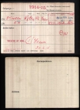 STIMSON ERIC MALCOLM(medal card)