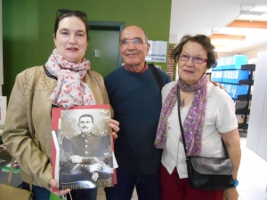 Christine Marchand and her parents donated personal belongings of their (great) grandfather Albert Fettu