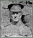 ATTFIELD WILLIAM (Detail of group photo training at Niagara Camp, in Toronto Star, 1915)