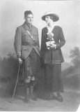 Saunders Thomas Bréhaut and his wife Isobel Taylor