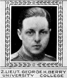 Berry George Herbert Bert (The Varsity Magazine Supplement Fourth Edition 1918 published by The Students Administrative Council, University of Toronto)