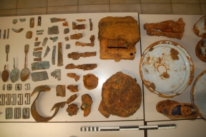archeological objects
